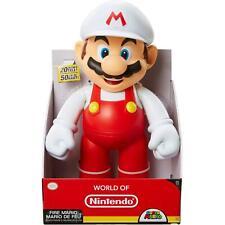 """World of Nintendo Super Mario: Fire Mario 20"""" Figure Jakks Pacific jumbo giant"""