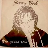 "Jimmy Bock 7"" ⚠️unplayed⚠️You gonna rock/Take a Chance/Guzze Record GU1701"