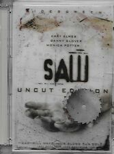 Saw (DVD Uncut Edition) With floating blade hard plastic case!