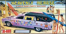 1960s JOHAN Heavenly Hearse model replica fridge magnet - new!