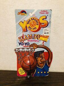 Rare Vintage Original 1989 Slam-Dunk 🏀Yo-Yo 🪀 Sealed