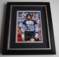 Walter Zenga SIGNED 10X8 FRAMED Photo Autograph Display Inter Milan Italy AFTAL