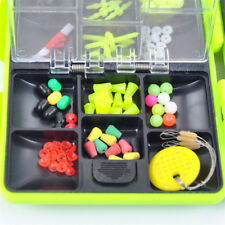 1 Set Assorted Tackle SEA Utility Box Jig Swivels Clamp Hooks Fishing Outdoors