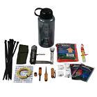 ASR Camper Survival Bottle Emergency Outdoor Camping Hiking Essential Kit