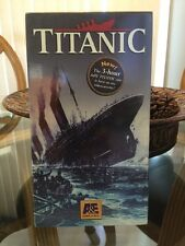 7339619506Titanic - A&E 3 Hour Documentary VHS Video - New, Sealed c  1994, 1997