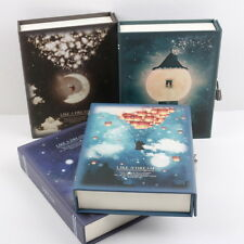 """""""Like A Dream"""" 1pc Luxury Notebook Diary Planner Journal Lock Box Gift Package Z"""