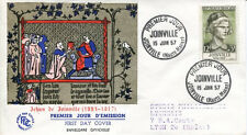 FRANCE FDC - 203 1108 3 SIRE DE JOINVILLE - 15 6 1957