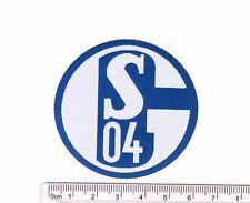 German FC Schalke 04 soccer football club iron-on embroidered patch emblem tw
