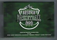 2020 LEAF Best Of Basketball Box