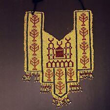 BellyDance ATS Costume Beaded NECKLACE Kuchi Tribal 809b5