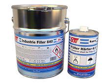 5 L STC Acryl Füller 4:1 grau Grundierung Rostschutz Grundierfüller inkl. Härter