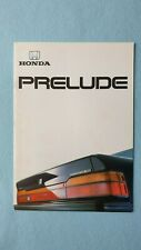 Honda Prelude Coupe 4WS 2.0i car brochure sales catalogue November 1988 MINT B