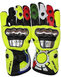 Motorcycle Motorbibke Leather Gloves Evion Rossi Design waterproof