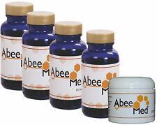 Kit Abeemed 4 Mes De Tratamiento (4 Frascos Y 1 Crema)