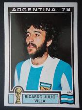 Panini 104 Ricardo Julio Villa Argentina WM 78 World Cup Story