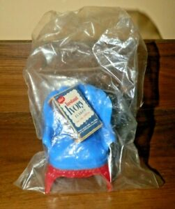 Unusual Ivory Soap Promo Matchbox in a Plastic Dollhouse Chair Sealed in a Bag