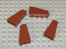 LEGO RedBrown slope brick 4460 / set 7594 10193 7040 3677 7662 8038 4766 10176..