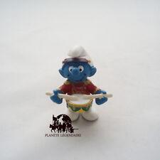 Figurine SCHTROUMPF Fanfare Tambour Tambourin Smurf SCHLEICH PEYO