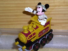Disney Mickey Train Engineer Die Cast Metal Eastern RW Original Packing Mint