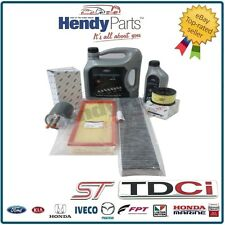 Origine Ford Mondeo ST TDCI 2.2 Diesel service kit inc 5W 30 Huile Air Carburant Pollen