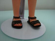 1 paio di scarpe/sandali per bambola 3s furga, alta moda, original vintage