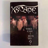 Xscape Who Can I Run To (Cassette) Single