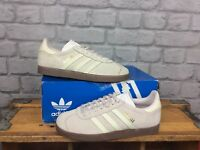 ADIDAS LADIES UK 5 EU 38 ORIGINALS PINK WHITE SUEDE GUMSOLE GAZELLE TRAINERS