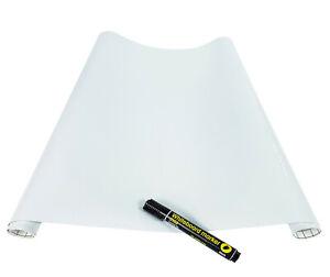 Whiteboard Weißwandtafel 16€/m² selbstklebende Tafel Klebe Folie Büro Schule Tür