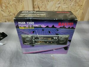 Vintage Sanyo AM/FM cassette  model MAR1280-B !!NOS!!