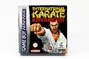 International Karate Advanced Nintendo Gameboy Advance Game In Box Complete
