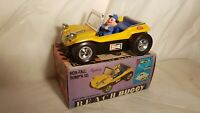 Tin&plastic Toy 1960's battery op. BEACH BUGGY (DUNE BUGGY) Hong  k. Mint in box