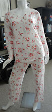 NWT $68.00 Carole Hochman Floral Print Knit Pajama Set 1591254T. Size: Small.