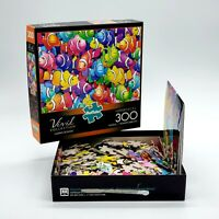 Buffalo Games Vivid Collection Clown School 300 PC Jigsaw Puzzle Fish Colorful