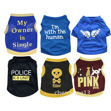 Small Dog Clothes Soft Vest Pet Puppy Cat Clothing for chihuahua yorkie maltese