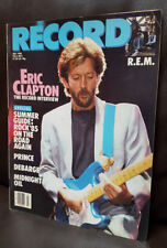 Eric Clapton Prince REM DeBarge Record Magazine Back Issue July 1985 Vol 4 #9