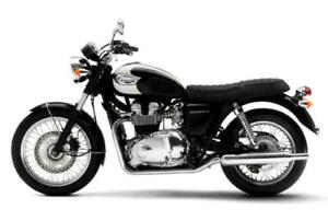 """TRIUMPH BONNEVILLE T100 SEAT COVER  """"2000 ONWARD"""" TOP QUALITY """"MADE IN ENGLAND"""""""