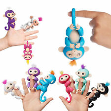 Lovely Interactive Baby Finger Monkey Toy Zoe Sound Motion Hanger Toy Gift New