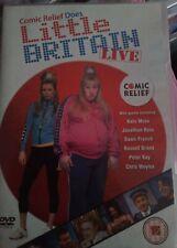 LITTLE  BRITAIN LIVE , COMIC RELIEF DVD