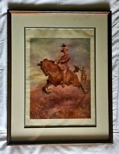 Australian Army New South Wales Lancers Framed Picture