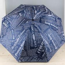 Portable Compact Umbrella Folding Rain Sun Windproof Vinyl Unisex