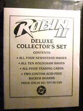ROBIN II DELUXE COLLECTORS SET (DC Comics, 1991) Batman  (Factory Sealed, VFINE)