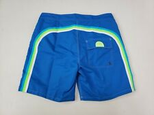 "Sundek Low Rise Classic 17"" Swim Trunks Board Shorts Ocean Size 30 Mens New"