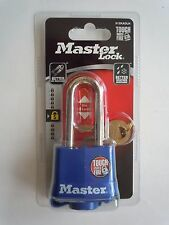 "New Master Lock 2"" Long Shackle, Padlock w/Weatherproof Cover 312DLH ,KEYED ALIK"