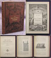 Elektro-technische Bibliothek Bd 14 Die Haus- & Hotel-Telegraphie 1883 sf