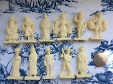 Vintage 60s Plastic Cereal 11 x Premium Toys Mandarin Java Ceylon Burma Figures