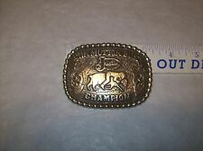 Justin Mution Bustin Champion Belt Buckle 1996 Great Find GREAT GIFT