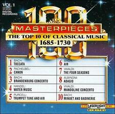 The Top 10 of Classical Music, 1685-1730,