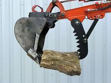 Baggerdaumen für Minibagger Bagger Greifer Holzgreifer