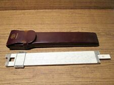 Vintage Frederick Post 1460 Versalog Hemmi Bamboo Japan Slide Rule With Case #2