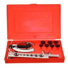 Double Flaring Tube Pipe Flare Tool Kit Brake Fuel Tube Repair Mechanic Plumbers